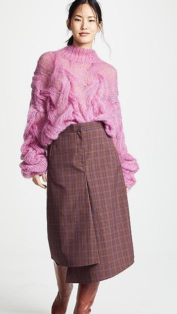 Oneonone Прозрачный свитер