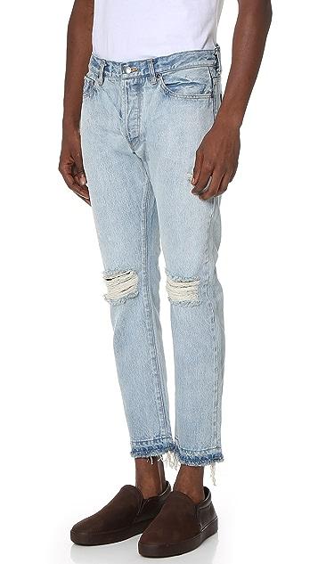 Ones Stroke Destroy 5 Pocket Jeans