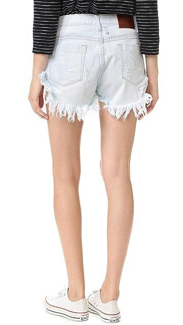 One Teaspoon Xanthe Bandits Shorts