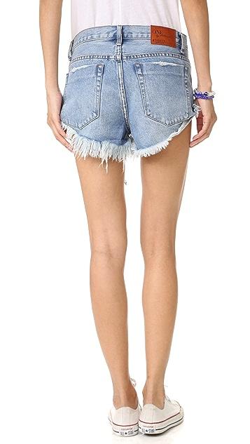 One Teaspoon Hollywood Bandits Shorts
