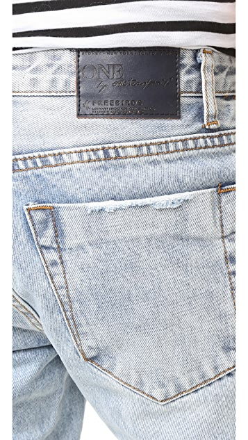 One Teaspoon Blue Malt Freebird Jeans
