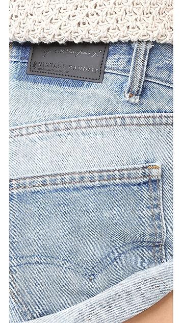 One Teaspoon Vintage Bandit Shorts
