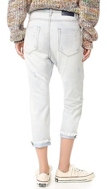 One Teaspoon Sea Salt Lonely Boyfriend Jeans