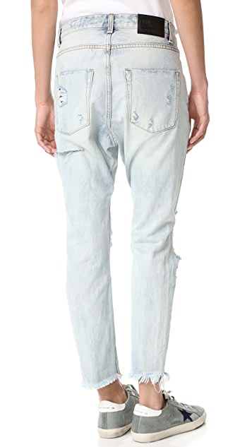 One Teaspoon Blue Hart Lonely Boy Jeans