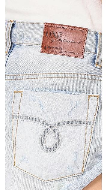 One Teaspoon Florence Bandit 短裤