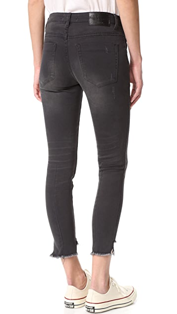 One Teaspoon Dark Fantasy Freebird II Step Hem Jeans