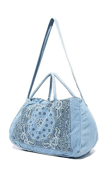 One Teaspoon Paisley Overnight Bag