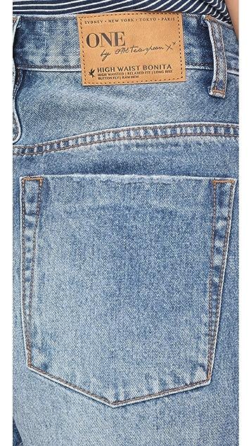 One Teaspoon Bonita High Waist Shorts