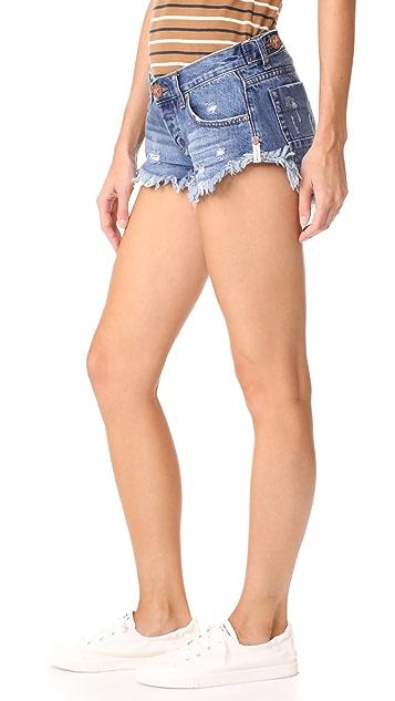 One Teaspoon No 2s Shorts