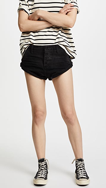 One Teaspoon Relaxed Fit Sailor Shorts