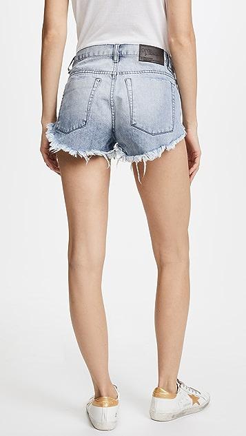 One Teaspoon Brandos Relaxed Shorts