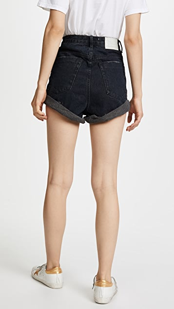 One Teaspoon High Waist Bandit Shorts