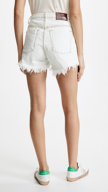One Teaspoon High Waist Bonita Shorts