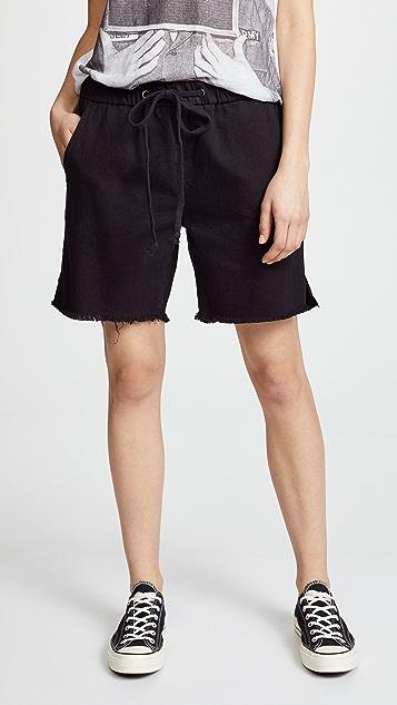 One Teaspoon Shabbies Boyfriend Shorts