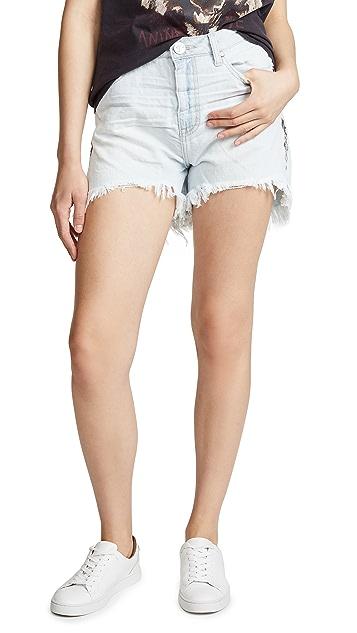 One Teaspoon Legend High Waist Mom Shorts