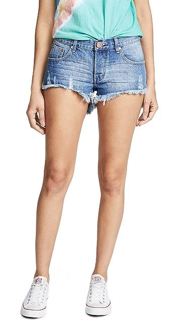 One Teaspoon Bonita Denim Shorts
