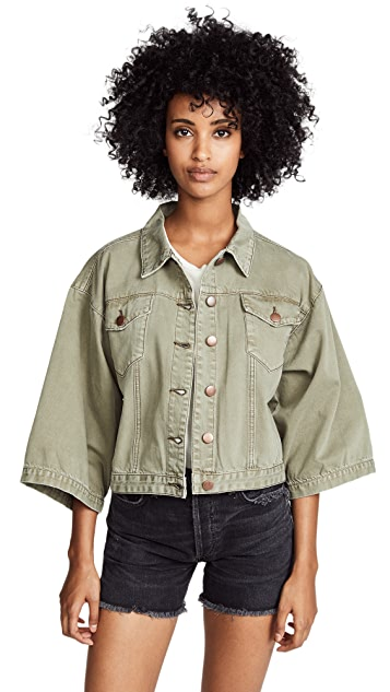 One Teaspoon Military Rembrant Jacket