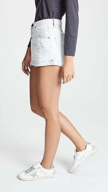 One Teaspoon High Waist Bandits Shorts