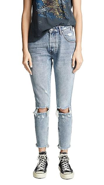 One Teaspoon Storm Boy Freebirds High Waist Skinny Jeans
