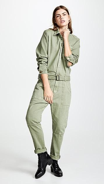so cheap biggest selection selected material Super Khaki Utility Jumpsuit