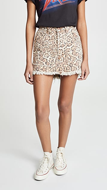One Teaspoon Vanguard Mini Skirt