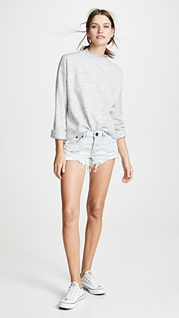 One Teaspoon Low Waist Bonita Shorts
