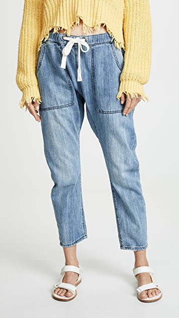 One Teaspoon Shabbies Drawstring Boyfriend Jeans