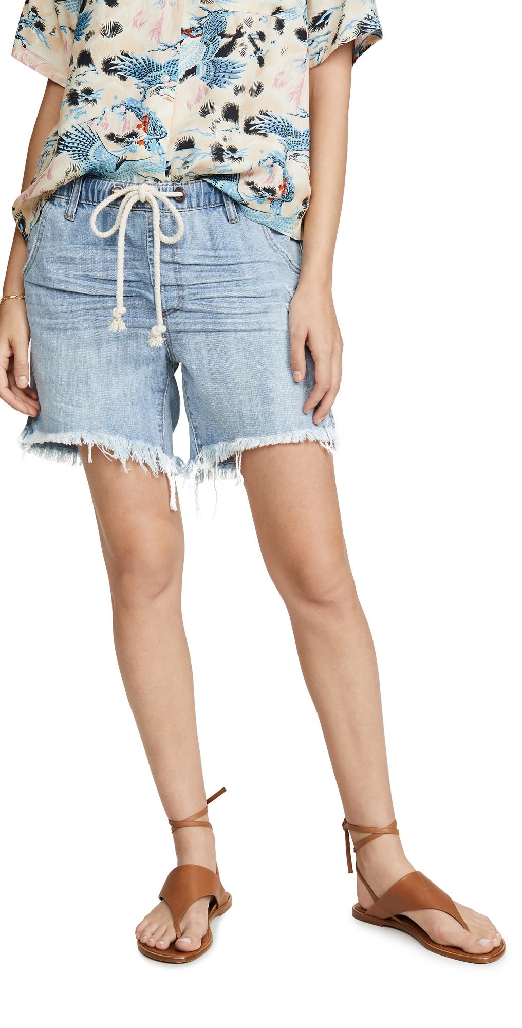 One Teaspoon Hustler Shabbies Boyfriend Shorts