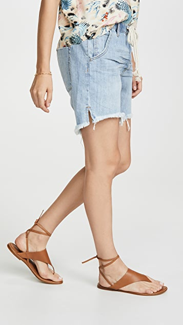 One Teaspoon Hustler Shabbies Boyfriend Shorts