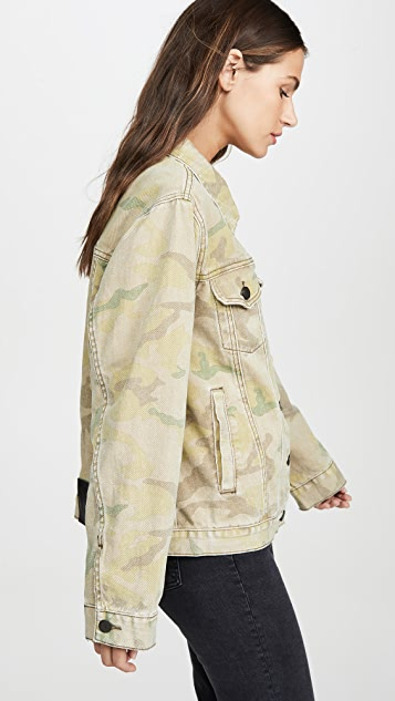 One Teaspoon Safari Camo Bandits Jacket