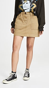 Khaki Great Escape Worker Skirt
