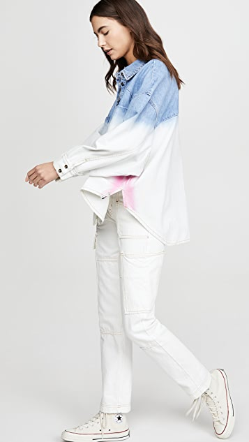 One Teaspoon Dip Dye Daria Shirt