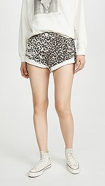 Bandits Mid-Waist Denim Shorts