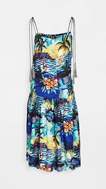 One Teaspoon Hawaiian Slip Dress