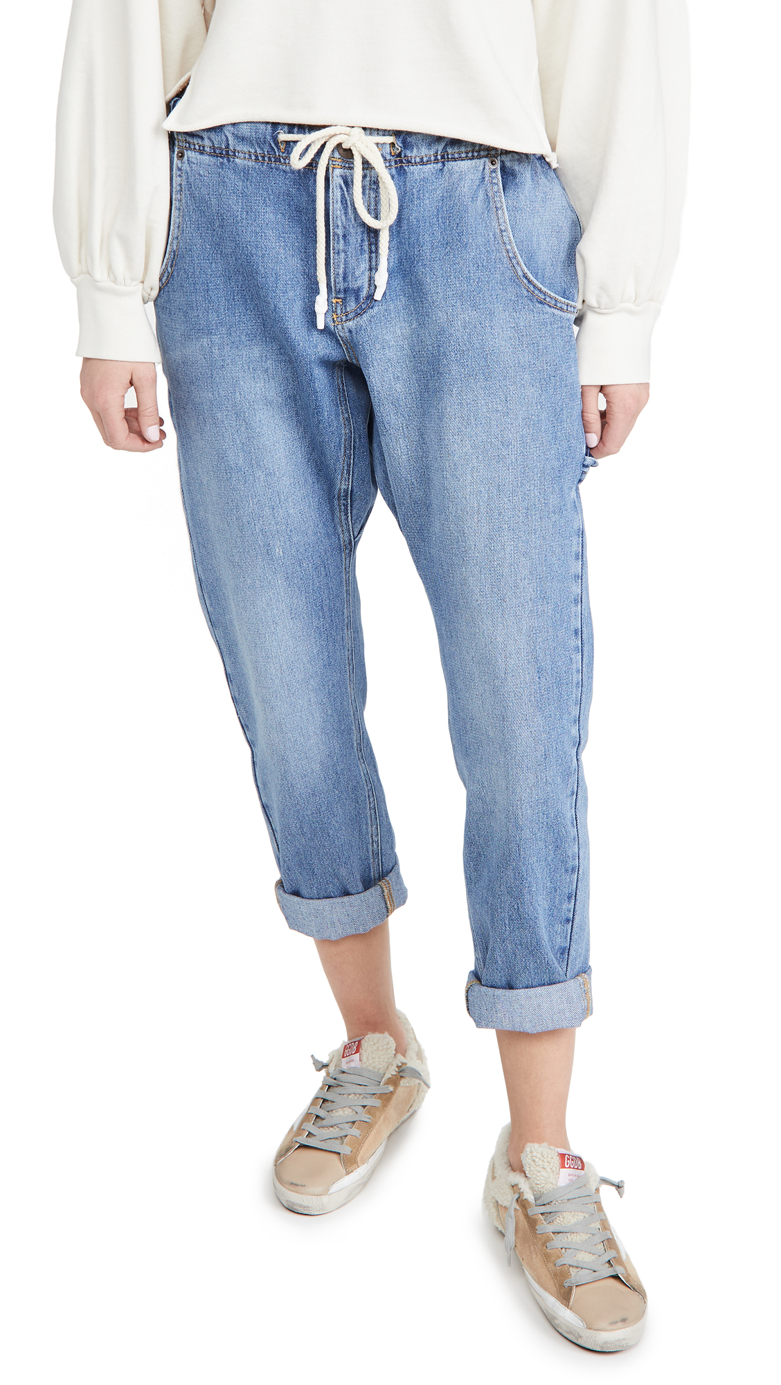 One Teaspoon Workwear Shabbies Boyfriend Jeans