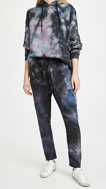 One Teaspoon Tie Dye Sweat Army Pants