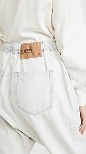 One Teaspoon Brando Shabby Kingpins Boyfriend Jeans