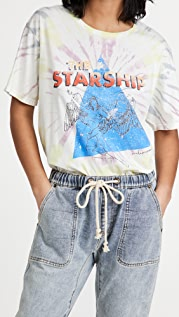 One Teaspoon Starship Tye Dye Boyfriend Tee
