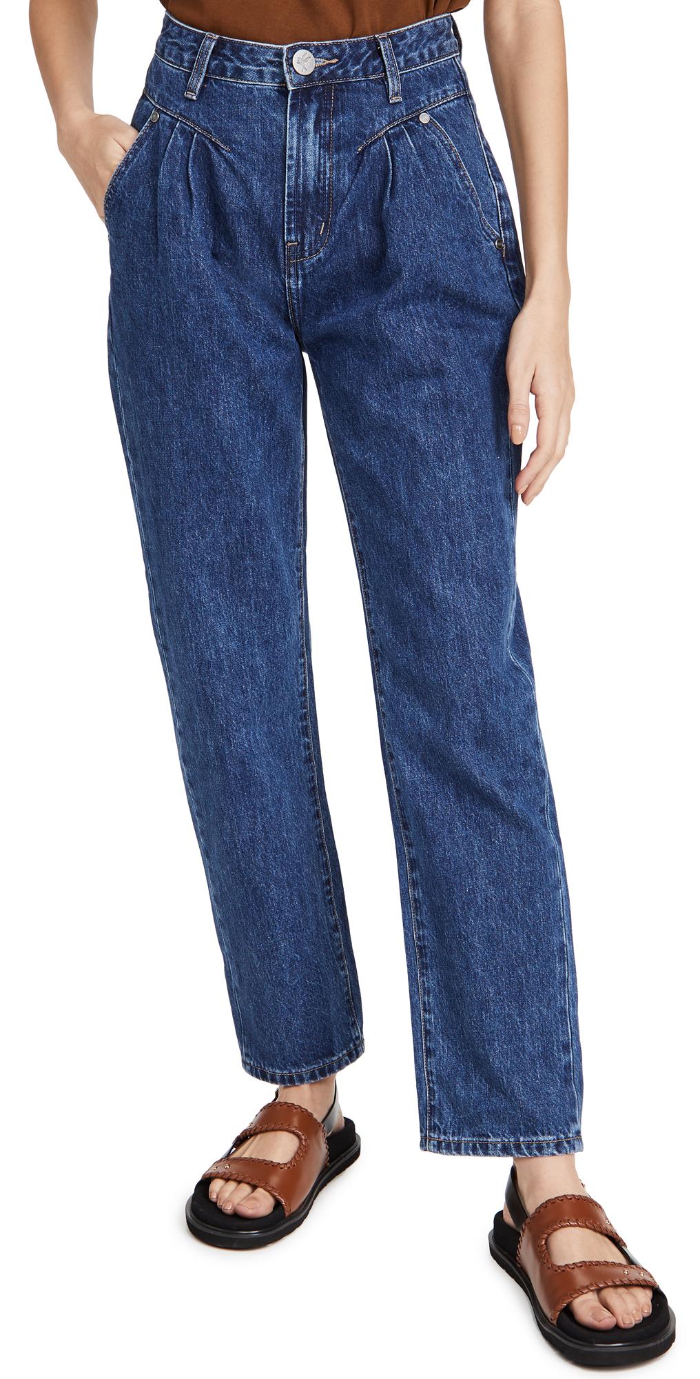 One Teaspoon Dakota Streetwalkers High Waist 80s Fit Jeans