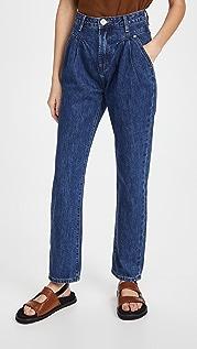 One Teaspoon Dakota Streetwalkers 80 年代复古风格高腰牛仔裤