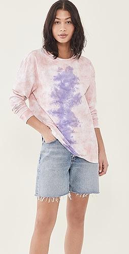One Teaspoon - Lilac Smoke 扎染长袖 T 恤