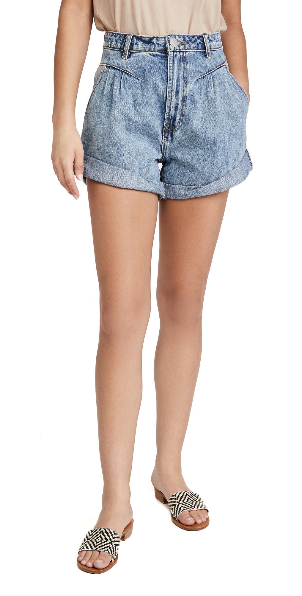 One Teaspoon Venice Streetwalkers High Waist 80s Shorts
