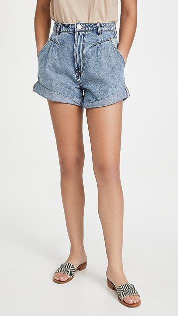 One Teaspoon Venice Streetwalkers 80 年代风格高腰短裤