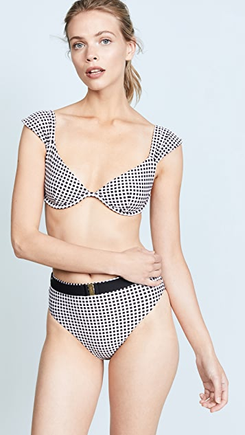 Onia x WeWoreWhat Allie Bikini Top