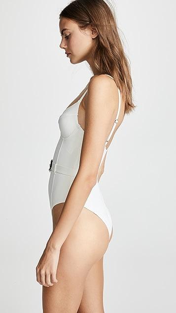 Onia Сплошной купальник x WeWoreWhat Danielle