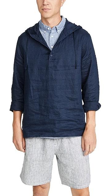 Onia Kai Popover Linen Shirt