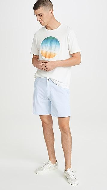 Onia Calder 7.5 Micro Stripe Swim Trunks