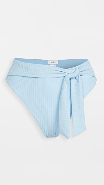 Onia Anais 绑带比基尼泳裤