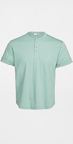 Onia - Ivan Short Sleeve Henley Shirt