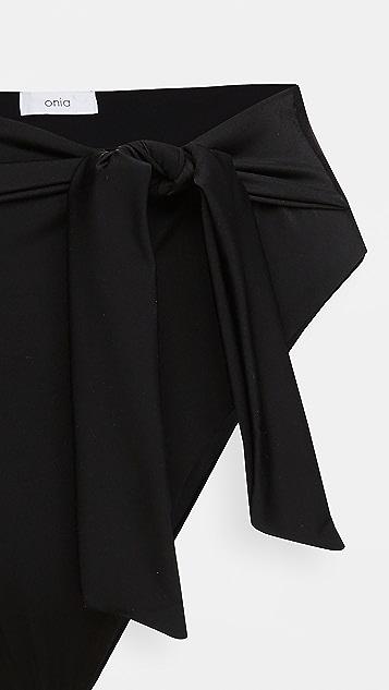 Onia Anais 绑带泳裤